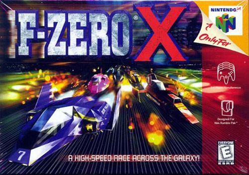 ▷ Play F-Zero X on Nintendo 64 (N64) | comicbook/video games