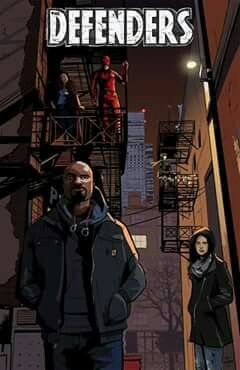 the defenders - luke cage & jessica jones