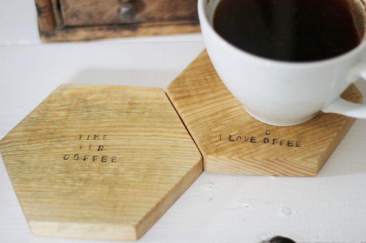 Drewniane podkładki