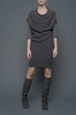 humanoid | anita bronze dress at plumo