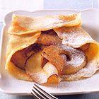 Pannenkoeken met gebakken kaneelappeltjes - recept - okoko recepten