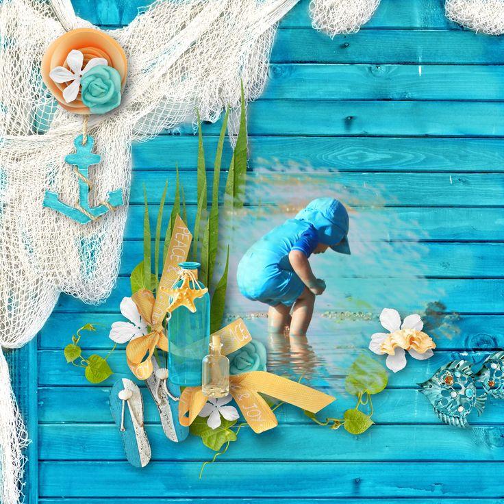"addon ""Seaside Treasures"" by BooLand Designs, https://www.digitalscrapbookingstudio.com/digital-art/kits/seaside-treasures-addon-mini-kit/, photo Pixabay"