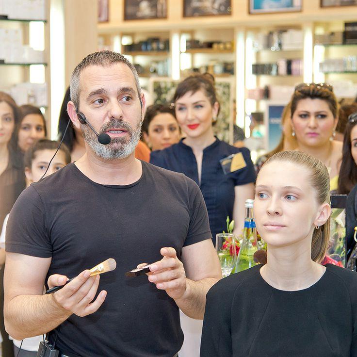 Presentation DG MakeUp at Sabina. MakeUp artist Vangelis Thodos