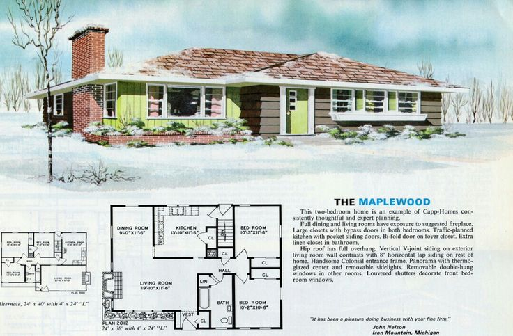 1000 images about floor plans on pinterest modern ranch for 1970s ranch house plans