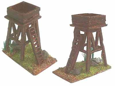 wooden watch tower medieval - Google Search
