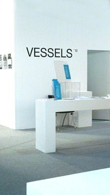 Infostand Gruppe VESSELS, Eunique 2010, Internationale Messe Karlsruhe
