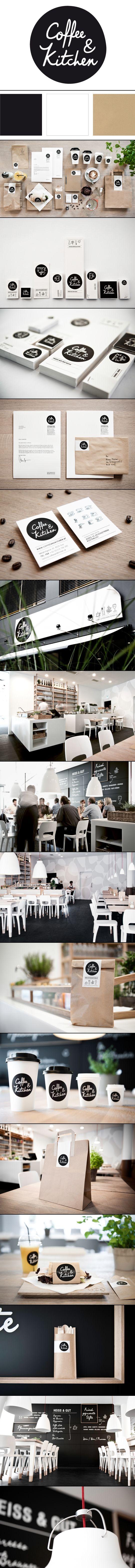 identity / Coffee & Kitchen | Moodley Brand Identity #design #branding #identity