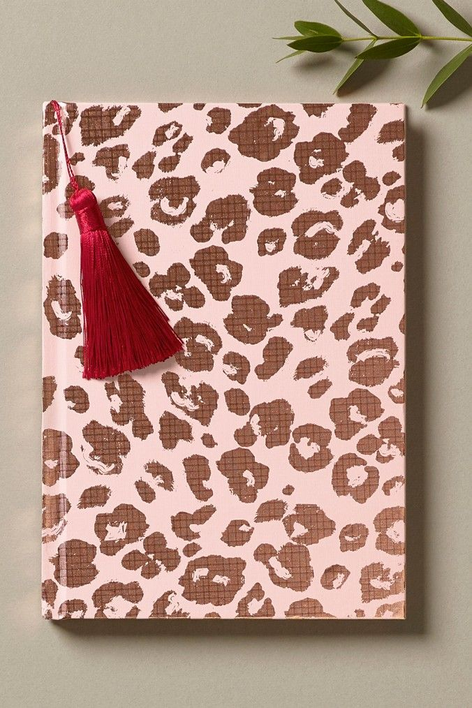 Womens Next Leopard Print Notebook Pink In 2020 Pretty