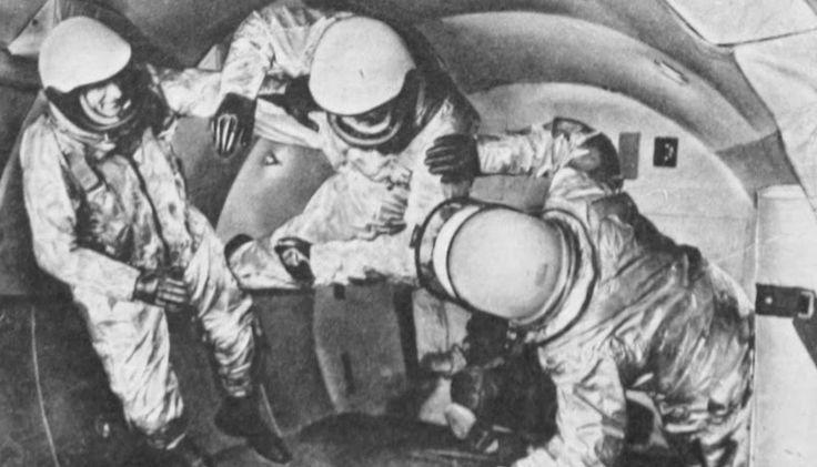 Uzay yolculuğu hazırlığı 1959.