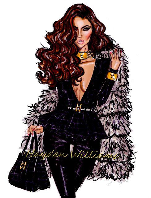 Die 494 besten Bilder zu Fashion illustration auf Pinterest ...