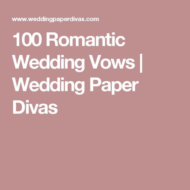 Romantic Wedding Ceremony Ideas: 17 Best Ideas About Romantic Wedding Vows On Pinterest