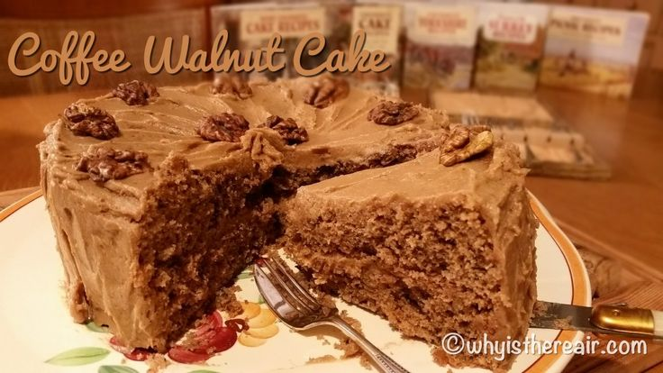 Madame Thermomix's Coffee Walnut Cake is a marriage made in heaven for two complentary flavours