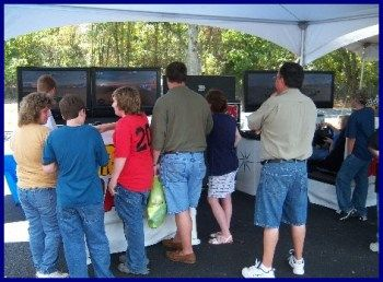 Nascar racing game ideas from Pro Racing Events. Racing Party Theme experts...