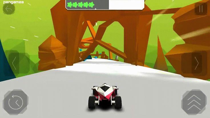 Stunt Rush - Simple controls jumpy racing in beatiful 3D graphics