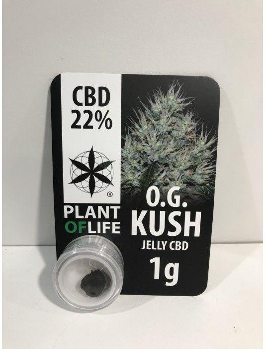 Plant Of Life Cbd Jelly 22% OG Kush 1gr