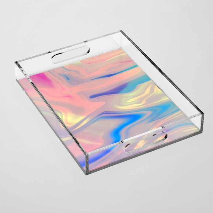 The difference is clear. Our decorative acrylic trays offer a unique and  transparent way to serve up some style. Use… | Acrylic tray, Holographic,  Acrylic organizer