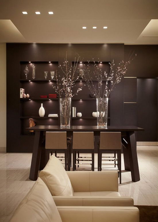 Contemporary Dining Room Ideas   Google Search