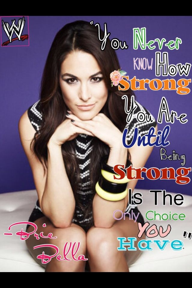 Brie Bella quote