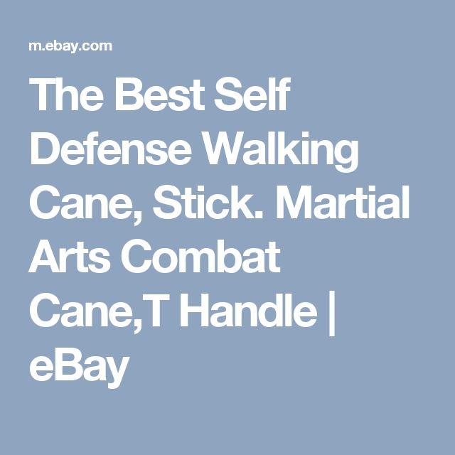 The Best Self Defense Walking Cane, Stick. Martial Arts Combat Cane,T Handle  | eBay