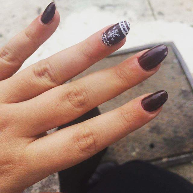 Christmas mood  #nails #christmas_nails