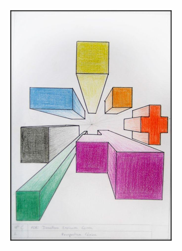 PERSPECTIVA CÓNICA FRONTAL: 4º DE ESO | .imagenesola imagen y la educacion plastica y visual en la educacón secundaria obligatoria