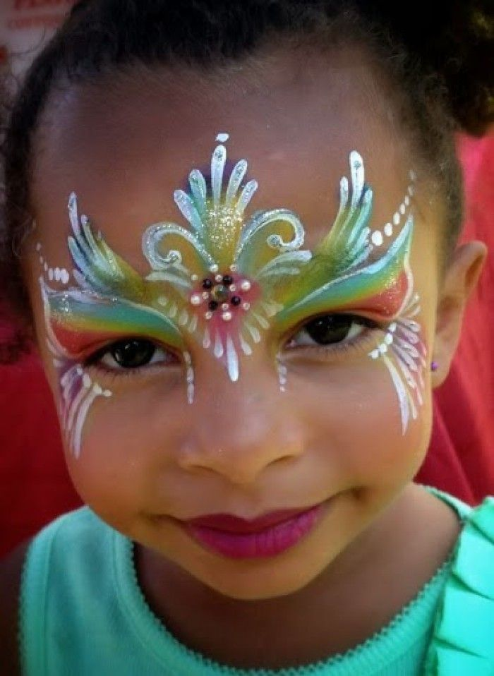 860 best face painting girls images on pinterest body for Face painting for parties