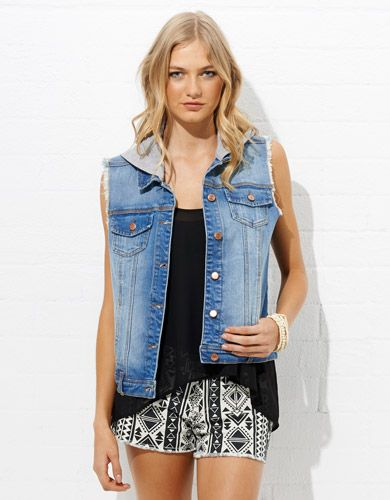 Image for Hooded Sleeveless Vest from Jay Jays