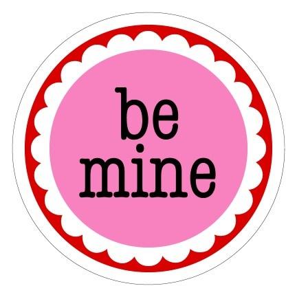 Schön Be Mine Valentine Stickers By Scrap Bits.