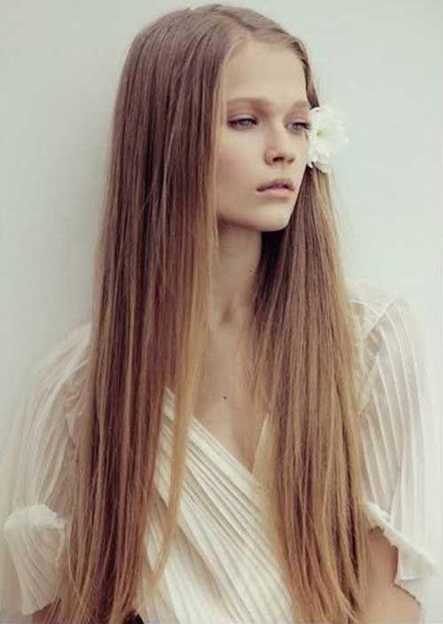 20 Hair Styles for Long Thin Hair