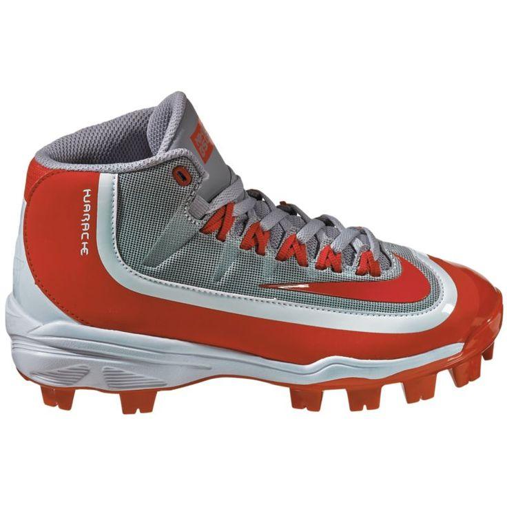 Nike Kids\u0027 Huarache 2KFilth Pro Mid MCS Baseball Cleats, Kids Unisex, Size: