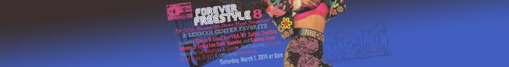 Forever Freestyle 8: The Latin-Flavored '80s Dance Music Sensation is coming up on 3/1/14 Featuring Stevie B, Lisa Lisa, TKA/K7, Safire, Cynthia, Johnny O, Lydia Lee Love, Nayobe, Fonda Rae, and Sammy Zone. More to be announced! Hosted by Sal Abbatiello & Speedy. Also featuring DJ Lucho, DJ 1st Class, DJ KYS & comedy by Mark Viera.