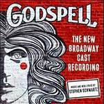 """GODSPELL--I love this recording.  My favorite track is #13, """"We Beseech Thee"""" with Nick Blaemire.  This is the second-best show on Broadway (behind Stephen Schwartz's other show, WICKED)."""