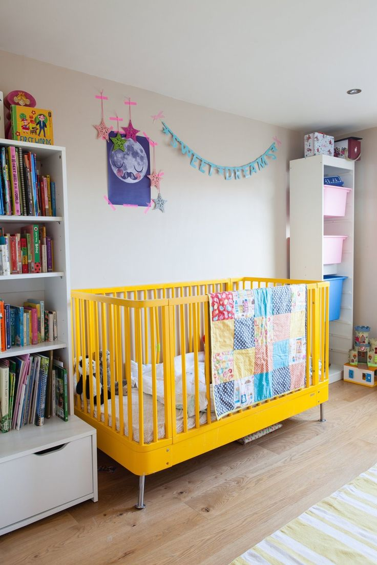 Baby bed for 2 year old - Emily Stef S Creative Colorful London Home
