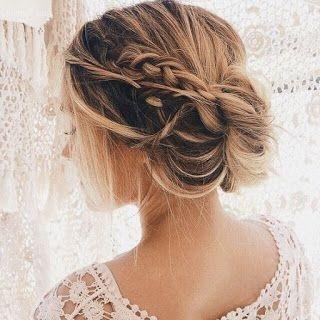 Peinados de novias para cabellos largos y cortos