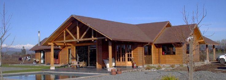 Casas prefabricadas chile buscar con google casas - Casa de la madera ...