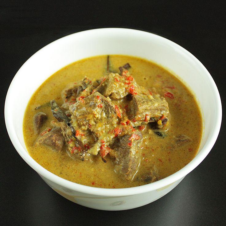 Gulai Sapi Padang – Padang Style Beef Curry