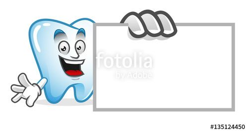 "Download the royalty-free vector ""tooth mascot with blank sign, tooth character, tooth cartoon vector "" designed by IronVector at the lowest price on Fotolia.com. Browse our cheap image bank online to find the perfect stock vector for your marketing projects!"