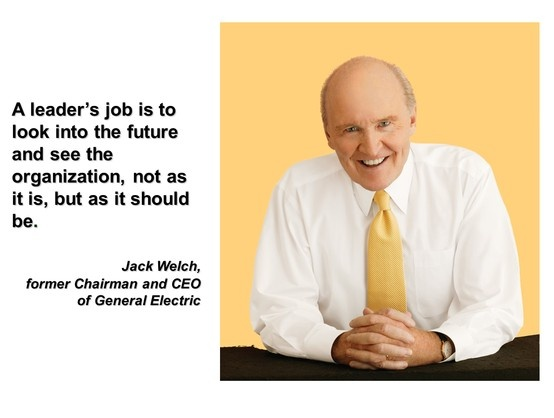 assessment of jack welch as a The mission of the jack welch management institute is to transform the lives of our students by providing them with the tools to become better leaders, build great teams, and help their organizations win.
