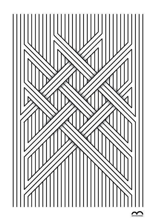 Líneas rectas: -Verticales.                         -Diagonales.