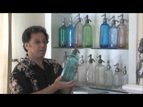 The Colorful Seltzer Bottle Collection of Richard Strell - YouTube