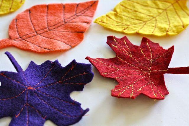 TUTORIAL: Fall Felt Leaves | MADE
