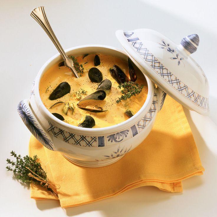 Découvrez la recette Crème de moules sur cuisineactuelle.fr.