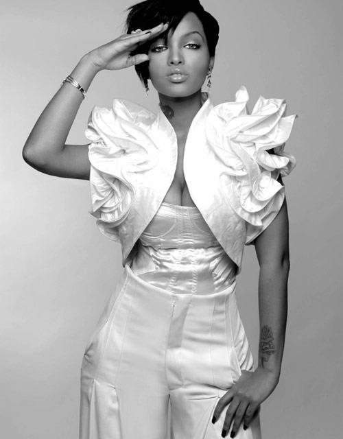 Fershgenet Melaku aka LoLa Monroe is an Ethiopian American rapper, model and actress.