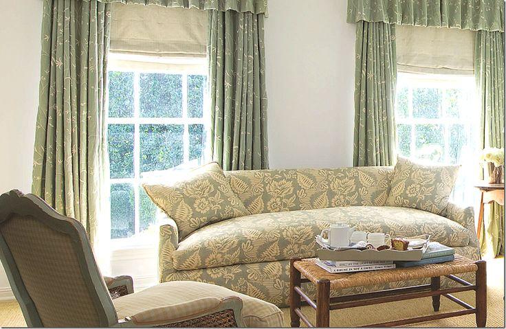 Carol Glasser - sofa and fabric