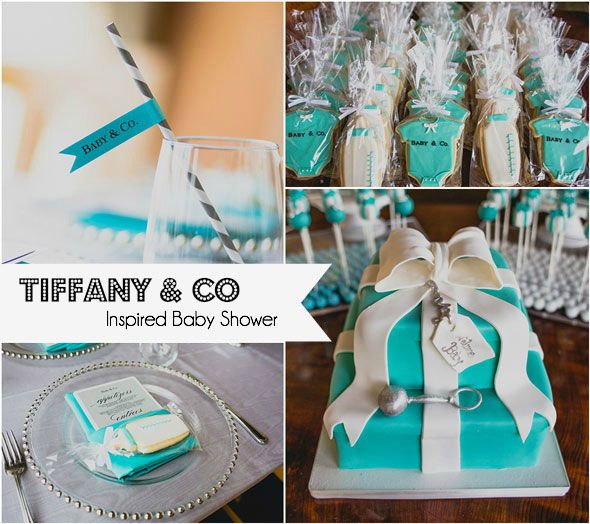 [Baby Shower] Tiffany Baby  Co Themed Shower - for you @megan_brockett when you one day cave. =)