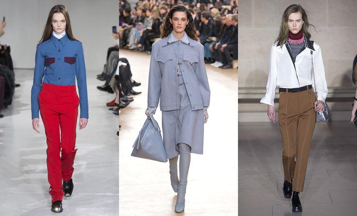 Calvin Klein, Nina Ricci, Louis Vuitton