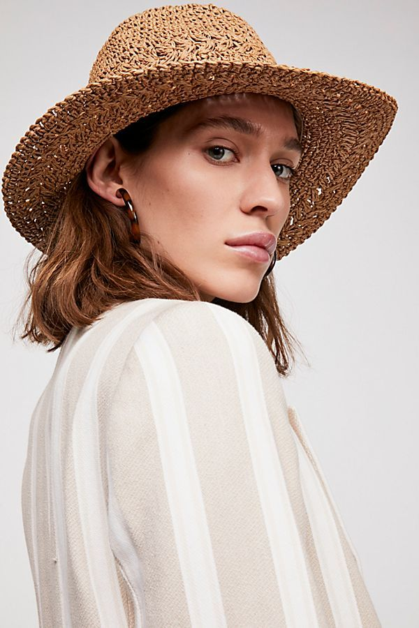 8c775a3fc Summerland Crochet Straw Sun Hat   FASHION: X Spring Break-Approved ...