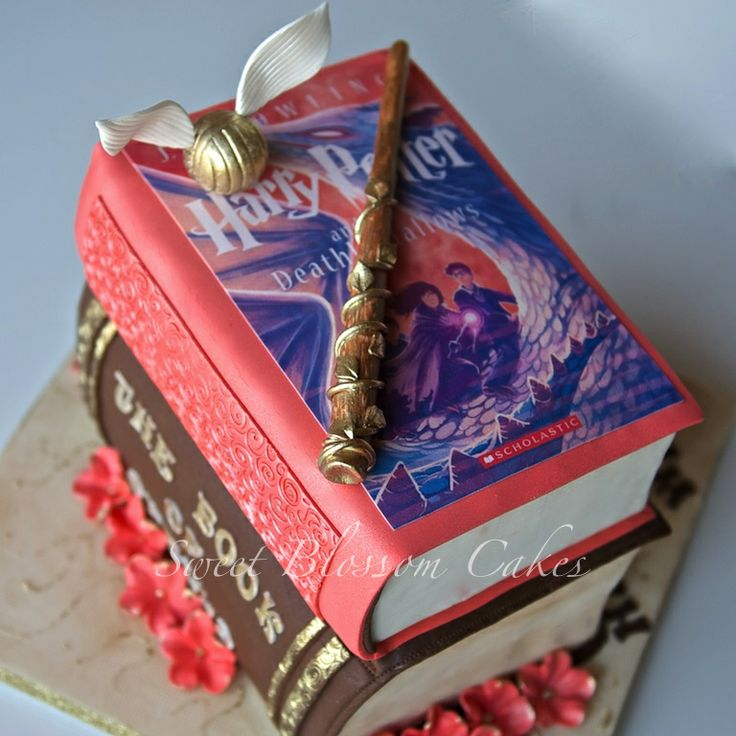 Cake Harry Potter Book : 17 Best images about Cake - Books on Pinterest Chocolate ...