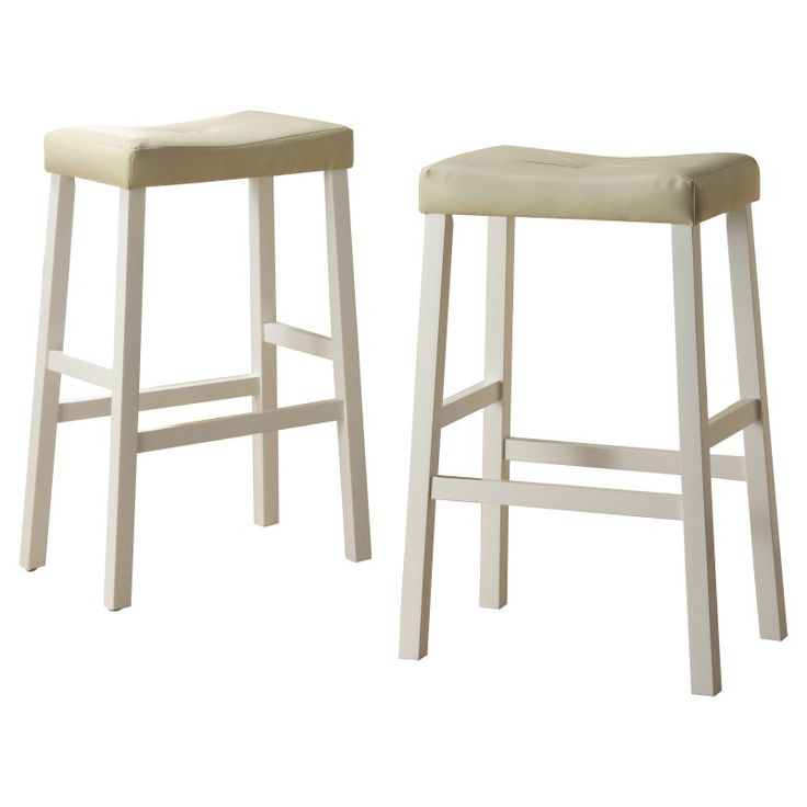 Weston Home Scottsdale Saddle Bar Stool White - Set of 2 - 5310W-29(  sc 1 st  Pinterest & Best 25+ Saddle bar stools ideas on Pinterest | West elm bar ... islam-shia.org