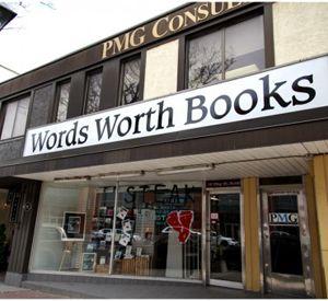 local landmark Words Worth Books